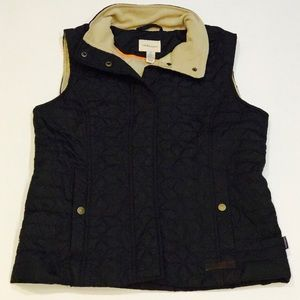 FLANNEL LINED VEST